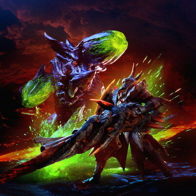"""009 Monster Hunter - Moster Fight Game 24""""x24"""" Poster"""
