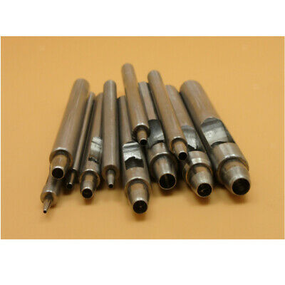 Heavy Duty Hollow Punch Set Tool For Leather Paper Plastic Wood Belt