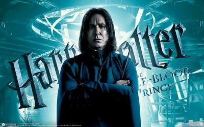 "028 Alan Rickman Harry - RIP Severus Snape UK Actor 38""x24"" Poster"