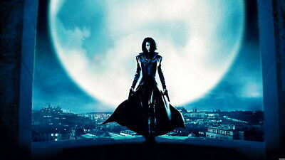 "006 Underworld - Kate Beckinsale Vampire Werewolves Movie 24""x14"" Poster"