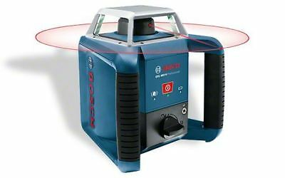 Bosch GRL400H Red Beam Outdoor Rotation Laser 400m with LR1 Receiver 0601061800