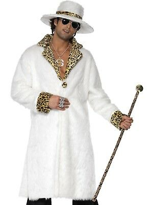 Sweet Daddy Beaujolais Red Pimp Gangster 1920s 1970s Men Costume