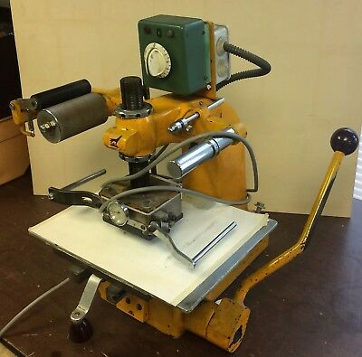 Foil stamp machine