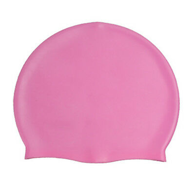 Adult Sports Silicone Swim Cap Flexible Durable Elasticity Elastic Swimming Hat