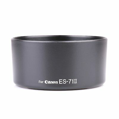 Camera Lens Hood for Canon ES-71 II ES-71II EF 50mm f/1.4 USM DSLR Lens NEW