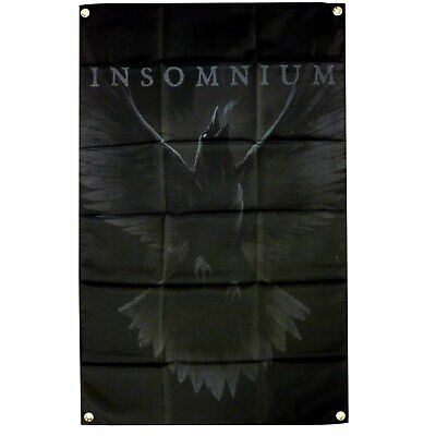 Insomnium Raven Poster Flag Official Fabric Textile Banner