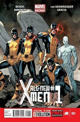 ALL-NEW X-MEN ISSUE 1 - SOLD OUT FIRST 1st PRINT - BENDIS MARVEL NOW!