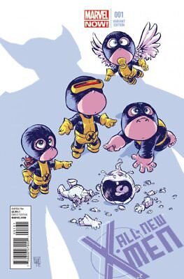 All-New X-Men Issue 1 - Sold Out Skottie Young Baby Variant - Marvel Now!