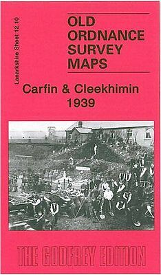Old Ordnance Survey Map Carfin & Cleekhimin 1939