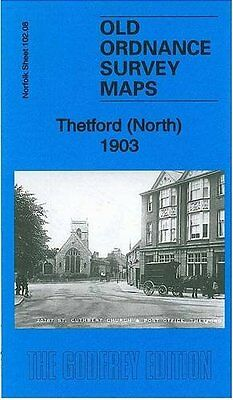 Old Ordnance Survey Map Thetford (North) 1903