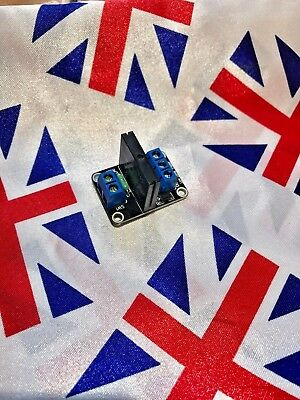 ⭐ 5V 1 Channel Solid State Relay SSR 240V 2A Module for Arduino Raspberry Pi ⭐