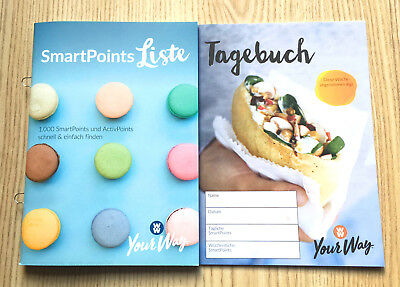 Weight Watchers SmartPoints Liste 2018 PROGRAMMSTART SET Sattmacher YourWay NEU