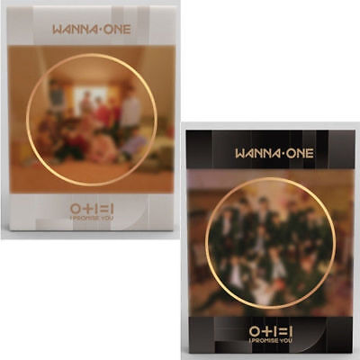 Wanna One [0+1=1 Promise You] 2nd Mini Album Set Ver CD+2 Poster+Book+Card+Tazo