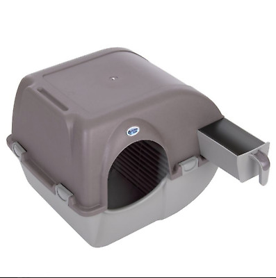 Large Self Cleaning Cat Litter Box Tray Kitten Omega Paw Roll N Clean