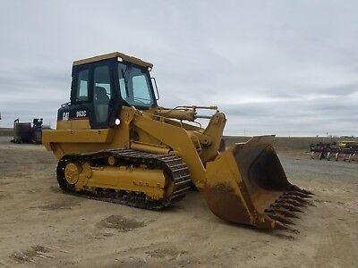 2003 Caterpillar 963C Track Loader Diesel Engine Hydraulic Hystat Machinery Cat