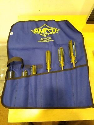 Ampco Safety Tools M-39 Screwdriver Kit, Non-Sparking, Non-Magnetic, Corr...