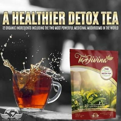 Detox Tea Te Divina Vida Divina For Weight Management, Fat burn, Diet Slimming