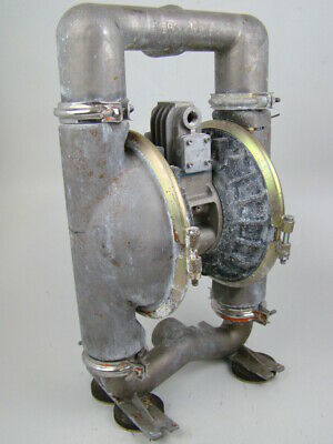 """Versa-Matic 2"""" 316SS Air Operated Double Diaphragm Pump  KD34-300"""