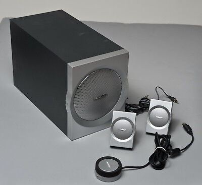 Bose Companion 3 Series II Multimedia Speaker System Excellent Condition