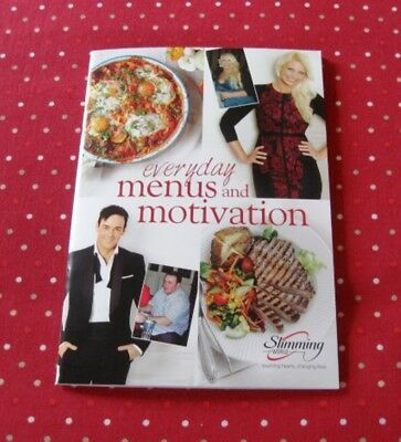 SALE Slimming World 12 Day Menus & Motivation Book Extra Easy Recipes Post Today