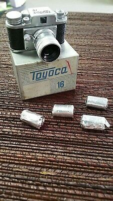 Toyoca 16 Subminiature Camera w Box  - RARE