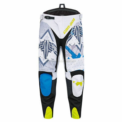 Can Am ATV Mens X-Race Pants Grey/Blue/Green - Pick Your Size