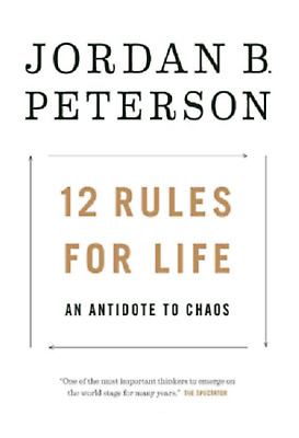 12 Rules for Life: An Antidote to Chaos by Jordan Peterson **EBOOK/PDF EMAILED**