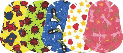 Ortopad Elite Girls Eye Patches - Patterns with Glitter Accents, Junior Size 50