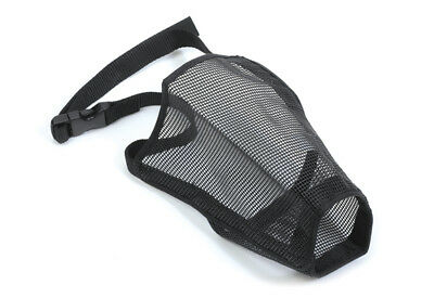 Ancol Mesh Dog Muzzle Soft Breathable Adjustable 5 Sizes Walking