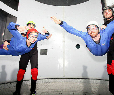 Indoor Skydiving for Two Experience Gift; a fun introductory sky dive experience
