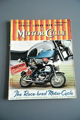 R&L Mag: The Motor Cycle 10 November 1960 London Bike Show Special Bumper Issue