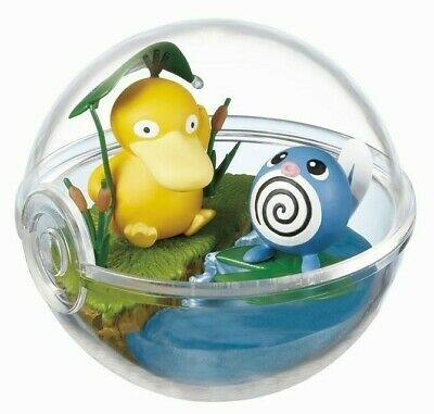 [USA Fast Ship] Pokemon Terrarium Collection 2 PSYDUCK & POLIWAG by RE-MENT