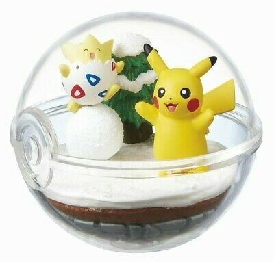 [USA Fast Ship!] Pokemon Terrarium Collection 2 TOGEPI & PIKACHU by RE-MENT