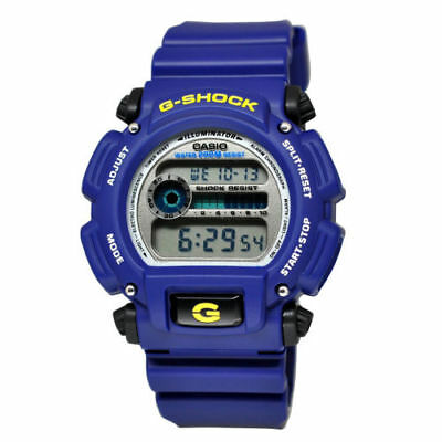 Casio G-Shock DW9052-2V Men's Blue Classic Digital Dial Resin Band Blue Watch