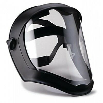 Uvex S8510 Bionic Face Shield with Clear Polycarbonate Visor W/ Anti-Fog Coating