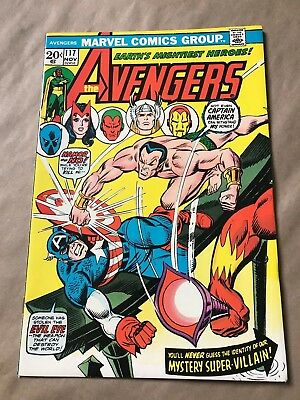 The Avengers #117 Comic Book (Marvel,1973)