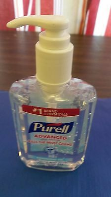 (ONE) PURELL 8 oz REFRESHING GEL HAND/BODY SANITIZER WITH PUMP USA MADE
