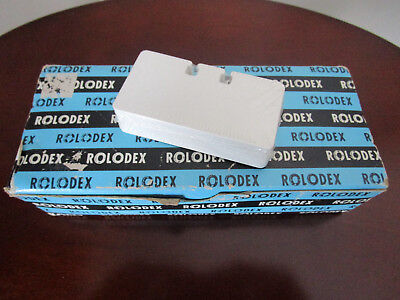 800 vintage sealed Rolodex cards C-17 with original box.