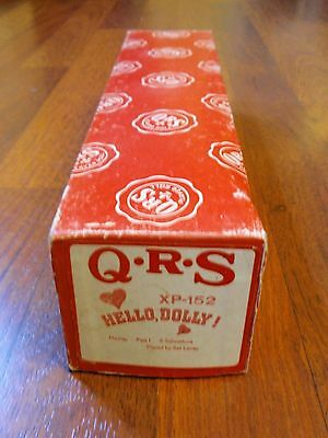 Vintage QRS Player Piano Roll - XP-152 Hello Dolly