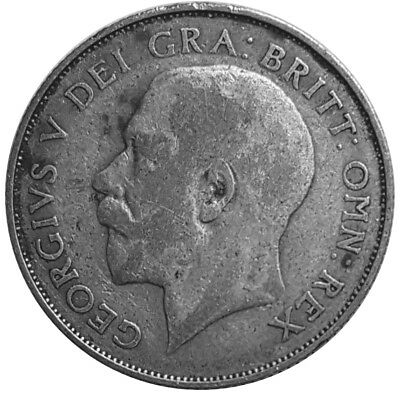 1926 One Shilling - Silver Coin - King George V - Great Britain  #P176