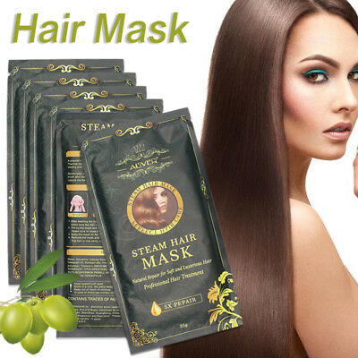 Repair Hair Film Hair Mask Keratin Argan Oil Treatment Hair Coarse Split Care