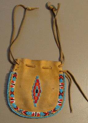 Native American Leather Pouch