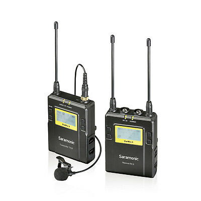 Saramonic UwMic9 96-Channel Digital UHF Wireless Lavalier Microphone System