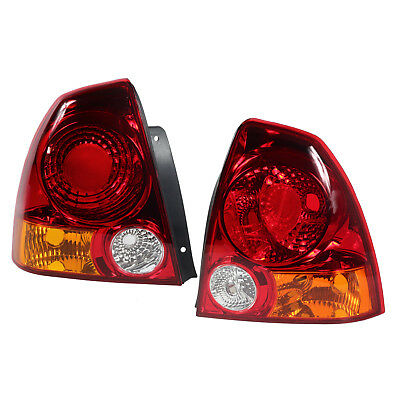 Pair (Right & Left) Rear Tail Stop Light Lamp for Hyundai Accent 2004-2005-2006
