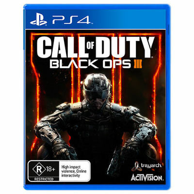 Call of Duty Black Ops 3 III PS4 Playstation 4 Game Brand New In Stock