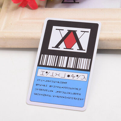 Anime Hunter x Hunter 1 Star Hunter License Card Gon Freecss Cosplay Card