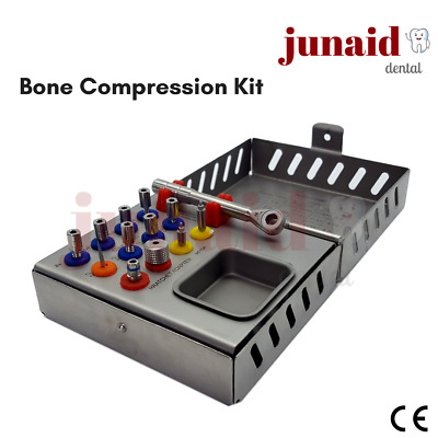 Surgical Sinus Lift Bone Compression Kit French Steel CNC Finished - CE