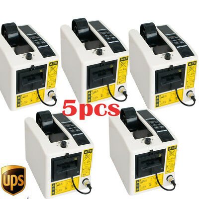 5x Automatic Tape Dispensers Adhesive Tape Cutter Cutting Packaging Machine 18W