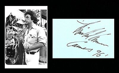 Autographe Michael Cimino ( † 2016) Signed  Signiert Dedicace Director