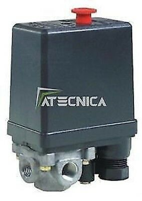 Pressure Switch Monophase For Compressors Air Universal Fiac 871/1 4 Ways